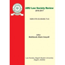AMU LAW SOCIETY REVIEW   2016-2017